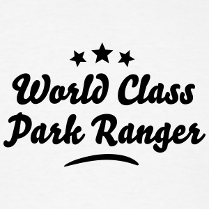 world class park ranger stars t-shirt - Men's T-Shirt