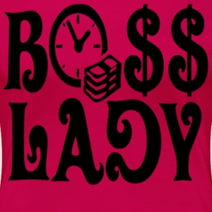 Bo$$ Lady Tee - Women's Premium T-Shirt