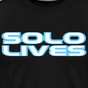 Solo Lives - Men's Premium T-Shirt