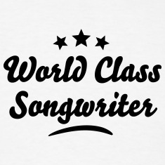 world class songwriter stars t-shirt