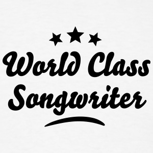 world class songwriter stars t-shirt - Men's T-Shirt