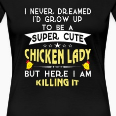 Super cute Chicken lady