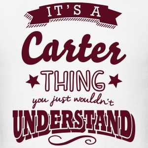 its a carter name surname thing t-shirt - Men's T-Shirt