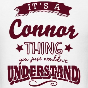 its a connor name surname thing t-shirt - Men's T-Shirt