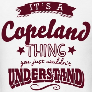 its a copeland name surname thing t-shirt - Men's T-Shirt