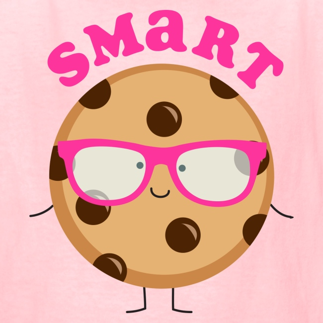 Pink Ink Art T Shirts And Gifts Smart Cookie T Shirt