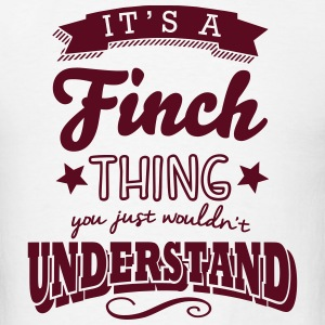 its a finch name surname thing t-shirt - Men's T-Shirt