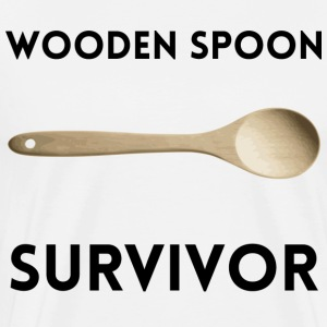 Wooden Spoon Survivor - Men's Premium T-Shirt