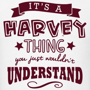 its a harvey name forename thing t-shirt - Men's T-Shirt