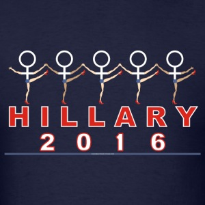 Hillary t-shirt female symbol t-shirt men - Men's T-Shirt