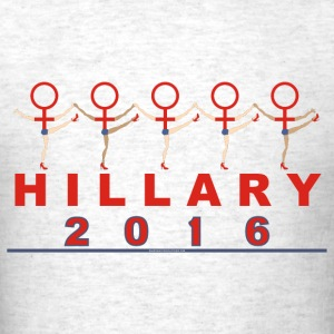 Hillary t-shirt female symbol t-shirt men light - Men's T-Shirt