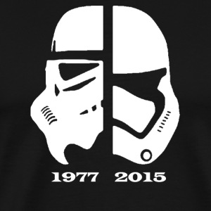 star wars 1977 2015 T-Shirts - Men's Premium T-Shirt