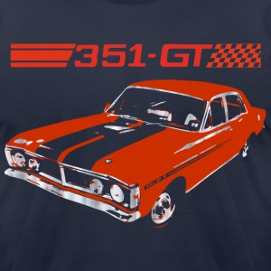 muscle car T-Shirts - Men's T-Shirt by American Apparel