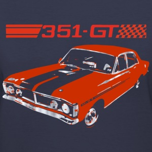 muscle car Women's T-Shirts - Women's V-Neck T-Shirt