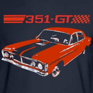 muscle car Long Sleeve Shirts - Men's Long Sleeve T-Shirt