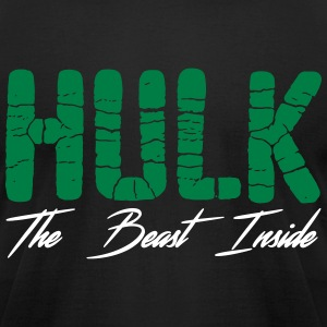 Hulk Men - Men's T-Shirt by American Apparel