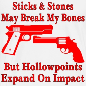 But Hollowpoints Expand On Impact - Men's Premium T-Shirt