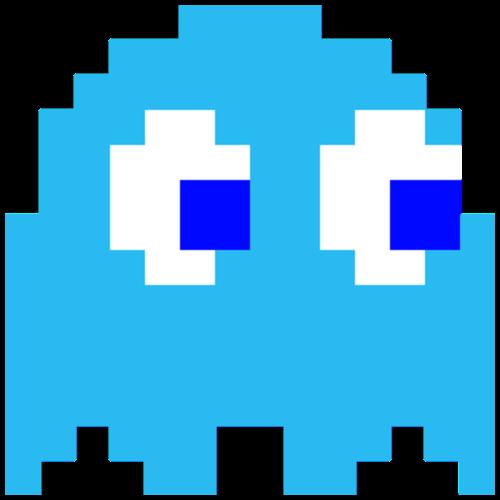 Inky Blue Ghost