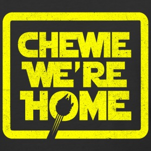 chewie,we're home-vintage T-Shirts - Baseball T-Shirt