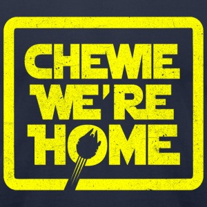 chewie,we're home-vintage T-Shirts - Men's T-Shirt by American Apparel