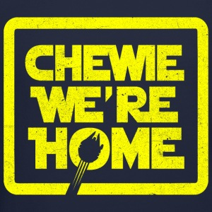 chewie,we're home-vintage Long Sleeve Shirts - Crewneck Sweatshirt