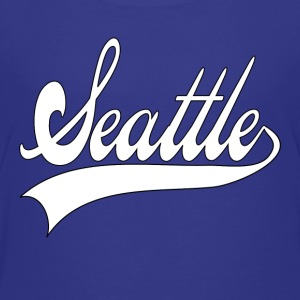 seattle white Kids' Shirts - Kids' Premium T-Shirt