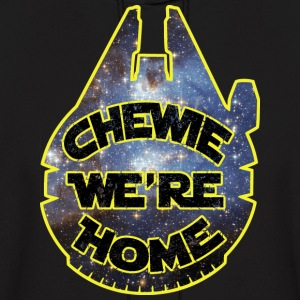 chewie, we're home-falcon Hoodies - Men's Hoodie