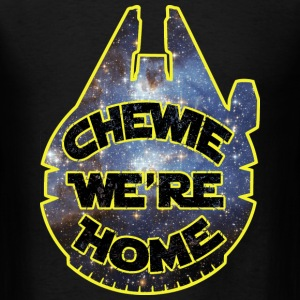 chewie, we're home-falcon T-Shirts - Men's T-Shirt