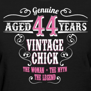 Vintage Chick  Aged 44 Years... Women's T-Shirts - Women's T-Shirt