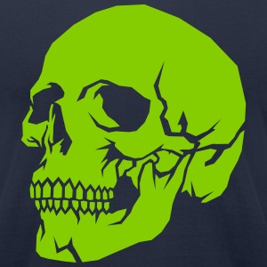Сarved skull T-Shirts - Men's T-Shirt by American Apparel