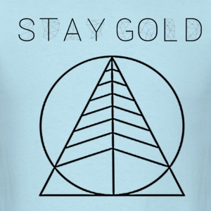Stay Gold Tree Sky Blue - Men's T-Shirt