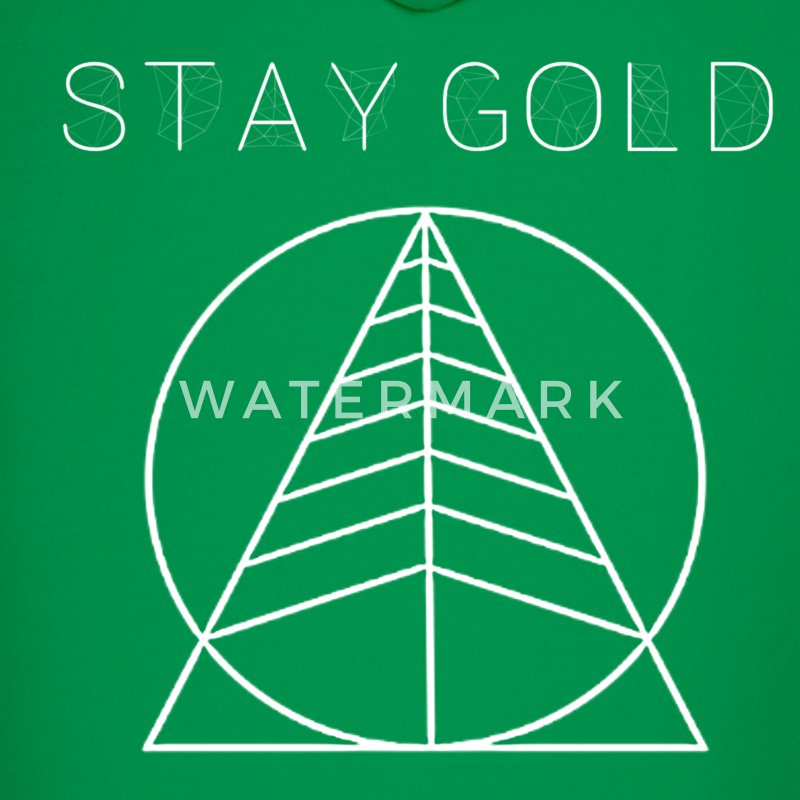 Stay gold hoodie
