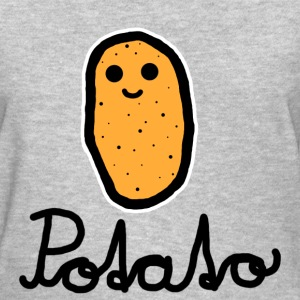 Potato (Black) - Women's T-Shirt
