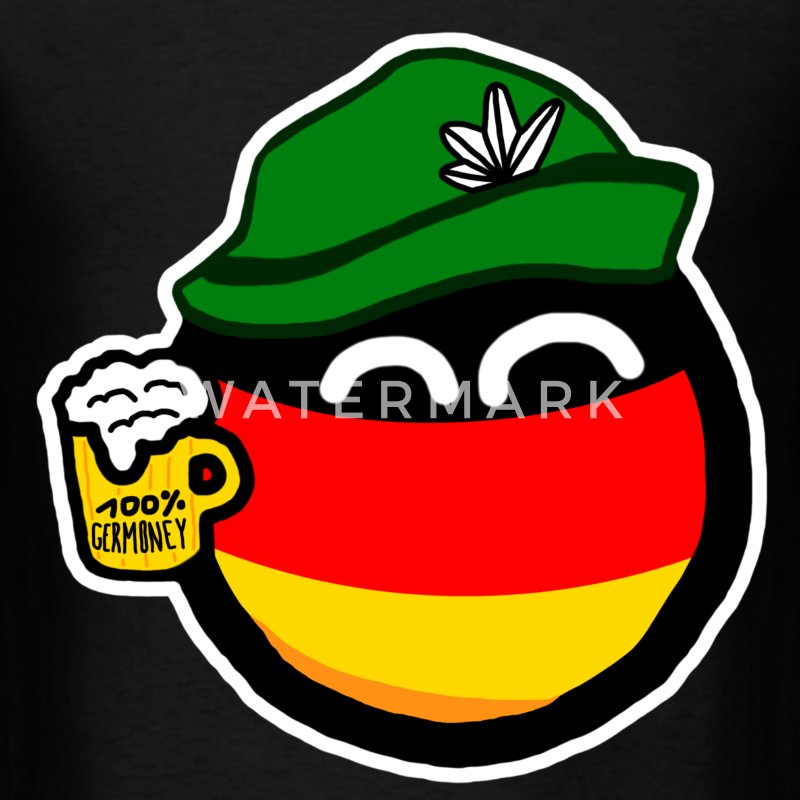 Germanyball - Men's T-Shirt