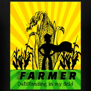 Farmer Outstanding In My Field - Men's T-Shirt