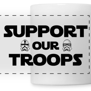 Support Our Troops Storm Troppers - Panoramic Mug