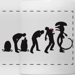 Alien Evolution - Panoramic Mug