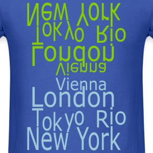 Cities by Claudia-Moda - Men's T-Shirt