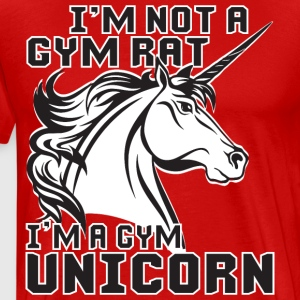 I'm A Gym Unicorn T-Shirts - Men's Premium T-Shirt
