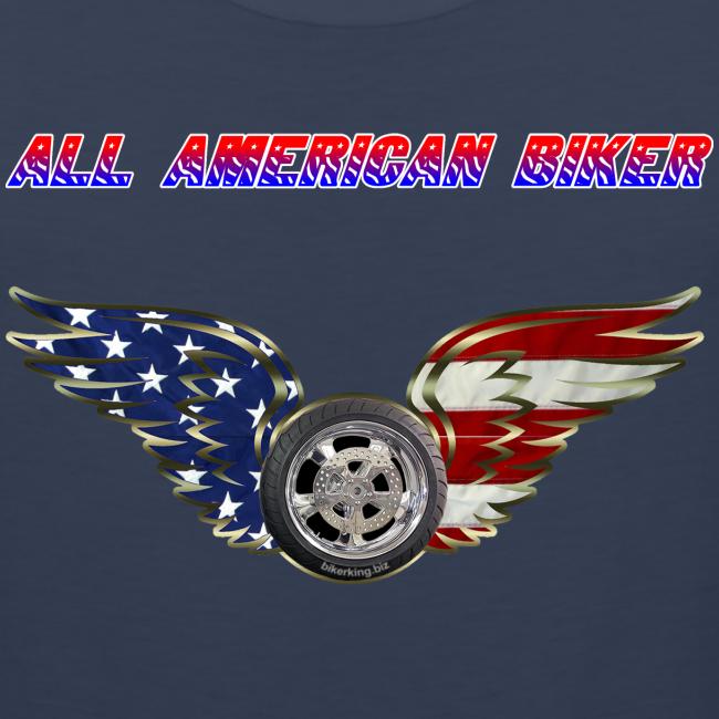 Men's Premium Tanktop (Front)- All American Biker