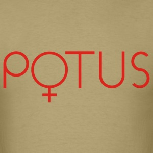 POTUS t-shirt female symbol men's tee - Men's T-Shirt