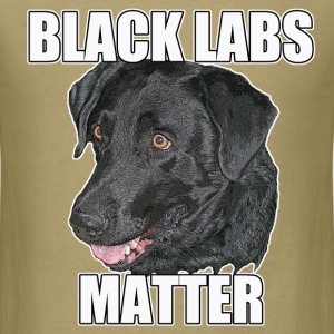 BLACK LABS MATTER Two - Men's T-Shirt