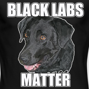 BLACK LABS MATTER Two - Men's Long Sleeve T-Shirt by Next Level