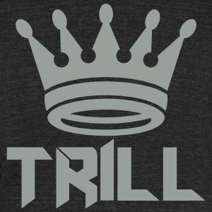 (trill_crown_small) T-Shirts - Unisex Tri-Blend T-Shirt by American Apparel