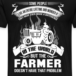 farmer, farmers daughter, farmer gift idea - Men's Premium T-Shirt