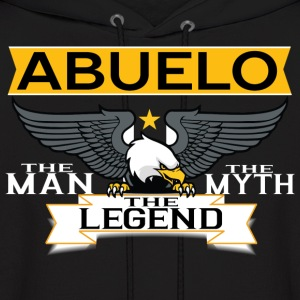 Abuelo The Man The Myth The Legend Hoodies - Men's Hoodie