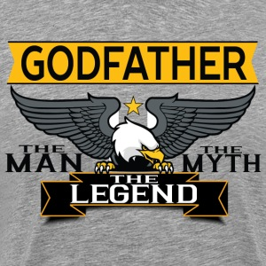 Godfather The Man The Myth The Legend T-Shirts - Men's Premium T-Shirt