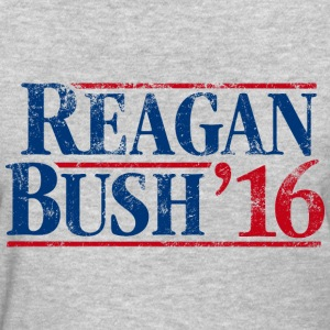 Distressed Reagan - Bush '16 - Women's T-Shirt