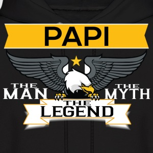 Papi The Man The Myth The Legend Hoodies - Men's Hoodie