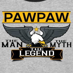 Pawpaw The Man The Myth The Legend T-Shirts - Baseball T-Shirt